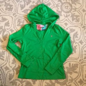 Lilly Pulitzer green hoodie